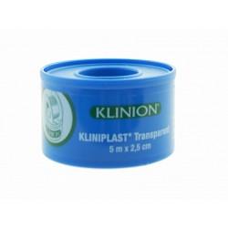 SPARADRAPS DE FIXATION KLIPLAST TRANSPARENT